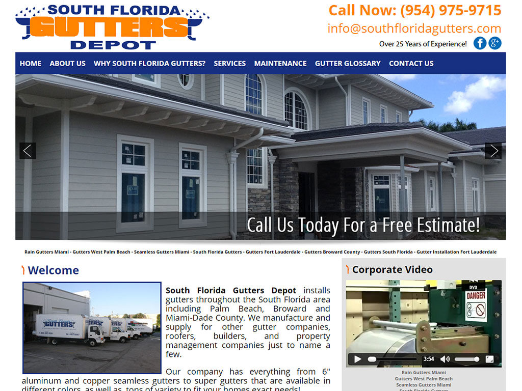 South Florida Gutters Depot