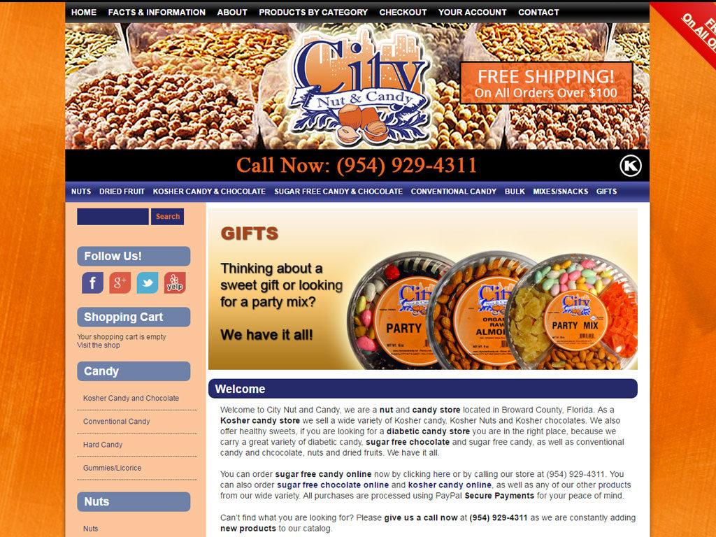 City Nut & Candy