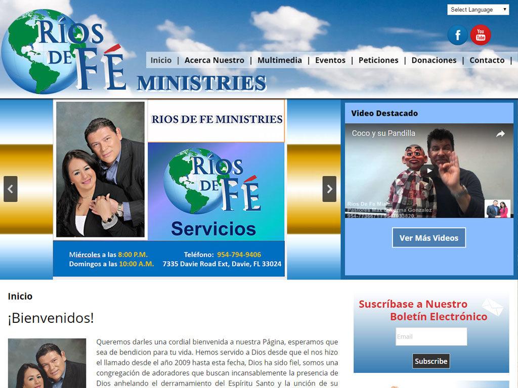 Rios de Fe Ministries